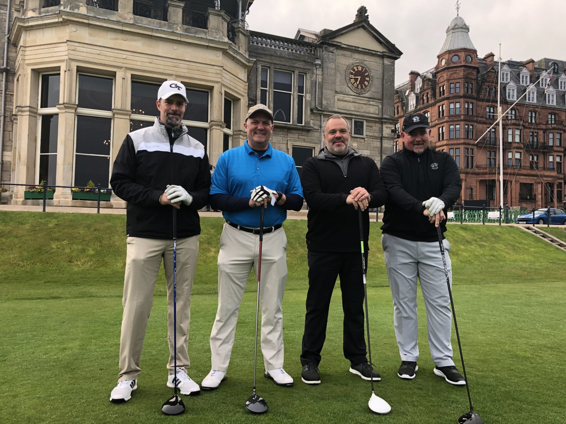 1st Tee – St. Andrews Old Course